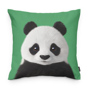 Pang the Giant Panda Throw Pillow