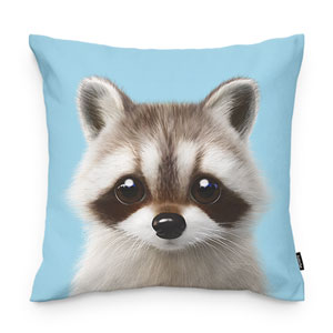 Nugulman the Raccoon Throw Pillow