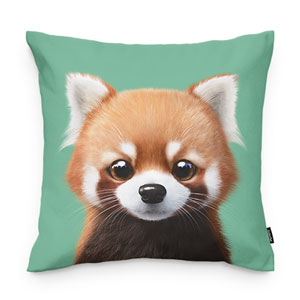 Radi the Lesser Panda Throw Pillow