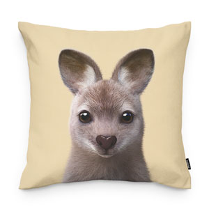 Wawa the Wallaby Throw Pillow