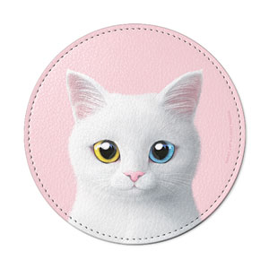 Enfant Leather Coaster