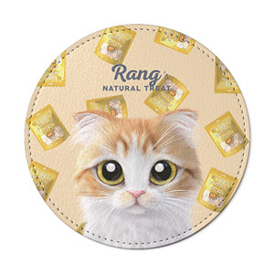 Rang's Natural Treat Leather Coaster