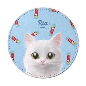 Ria's Churu Leather Coaster