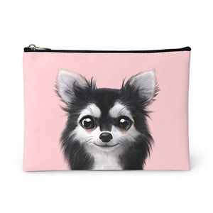 Cola the Chihuahua Leather Pouch