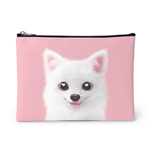 Dubu the Spitz Leather Pouch
