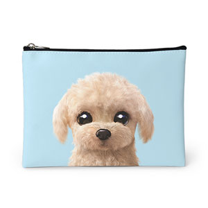 Renata the Poodle Leather Pouch