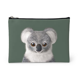 Coco the Koala Leather Pouch