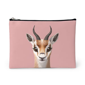 Gazelle the Thomson's Gazelle Leather Pouch