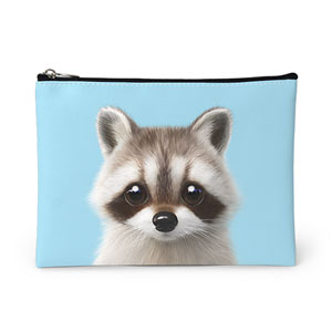 Nugulman the Raccoon Leather Pouch
