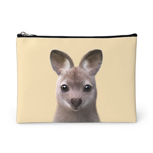 Wawa the Wallaby Leather Pouch