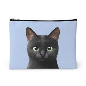 Zoro the Black Cat Leather Pouch