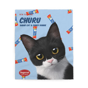Byeol the Tuxedo Cat's Churu New Patterns Cleaner