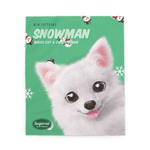 Dubu the Spitz's Snowman New Patterns Cleaner
