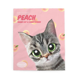 Momo the American shorthair cat's Peach New Patterns Cleaner