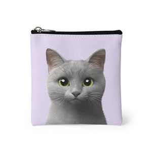 Nami the Russian Blue Mini Pouch