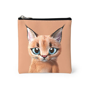 Cali the Caracal Mini Pouch