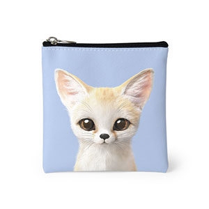 Denny the Fennec fox Mini Pouch