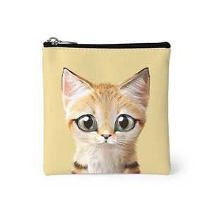 Sandy the Sand cat Mini Pouch