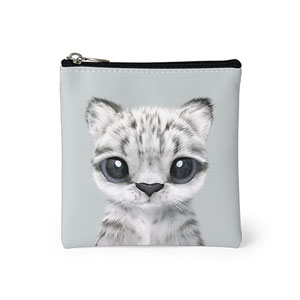 Yungki the Snow Leopard Mini Pouch