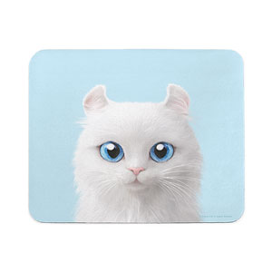 Byiulee the American Curl Mouse Pad