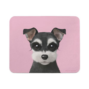 Jini the Schnauzer Mouse Pad