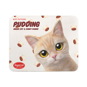 Bangul's Pudding New Patterns Mouse Pad