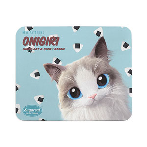 Bonnie's Onigiri New Patterns Mouse Pad