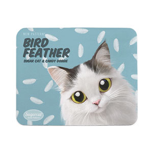 Charlie's Bird Feather New Patterns Mouse Pad
