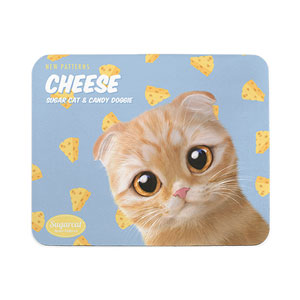 Cheddar's Cheese New Patterns Mouse Pad