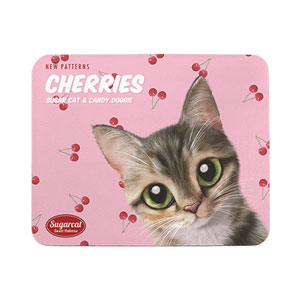 Cherry's Cherries New Patterns Mouse Pad