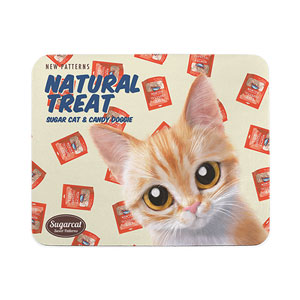 Chikuri's Natural Treat New Patterns Mouse Pad