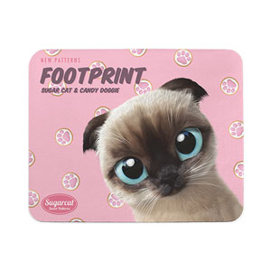 Chouchou's Footprint New Patterns Mouse Pad