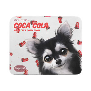 Cola's Cocacola New Patterns Mouse Pad