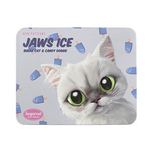 Delma's Jaws Ice New Patterns Mouse Pad