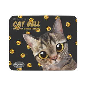 Dots's Cat Bell New Patterns Mouse Pad
