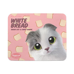 Duna's White Bread New Patterns Mouse Pad