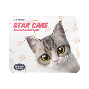 Gaomi's Star Cane New Patterns Mouse Pad