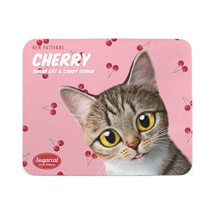 Gisele's Cherry New Patterns Mouse Pad