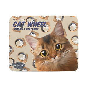 Horus's Catwheel New Patterns Mouse Pad