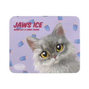 Jaws's Jaws Ice New Patterns Mouse Pad