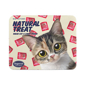 JJaguri's Natural Treat New Patterns Mouse Pad