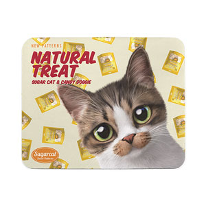 Jjakiri's Natural Treat New Patterns Mouse Pad