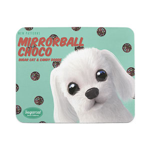 Livee's Mirrorball Choco New Patterns Mouse Pad