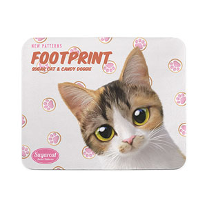 Mingky's Footprint New Patterns Mouse Pad