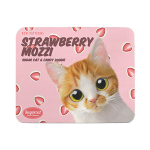 Mozzi Hana's Strawberry Mozzi New Patterns Mouse Pad