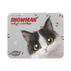 Nena's Snowman New Patterns Mouse Pad
