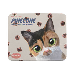 Pangyee's Pinecone New Patterns Mouse Pad