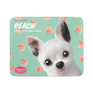 Peaches's Peach New Patterns Mouse Pad
