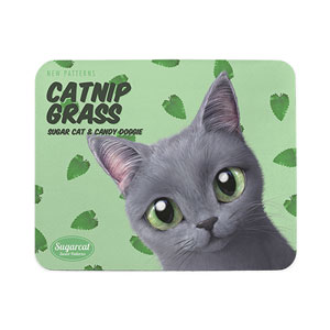 Pinggu's Catnip Grass New Patterns Mouse Pad