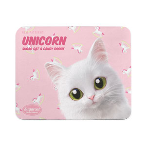 Ria's Unicorn New Patterns Mouse Pad